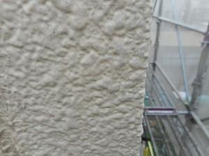 外壁劣化アップ 高圧洗浄後
