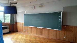 教室 木部
