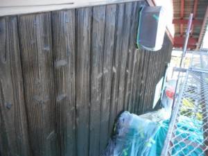 焼き板 塗装後