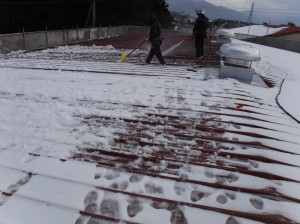 JA上大森 雪かき