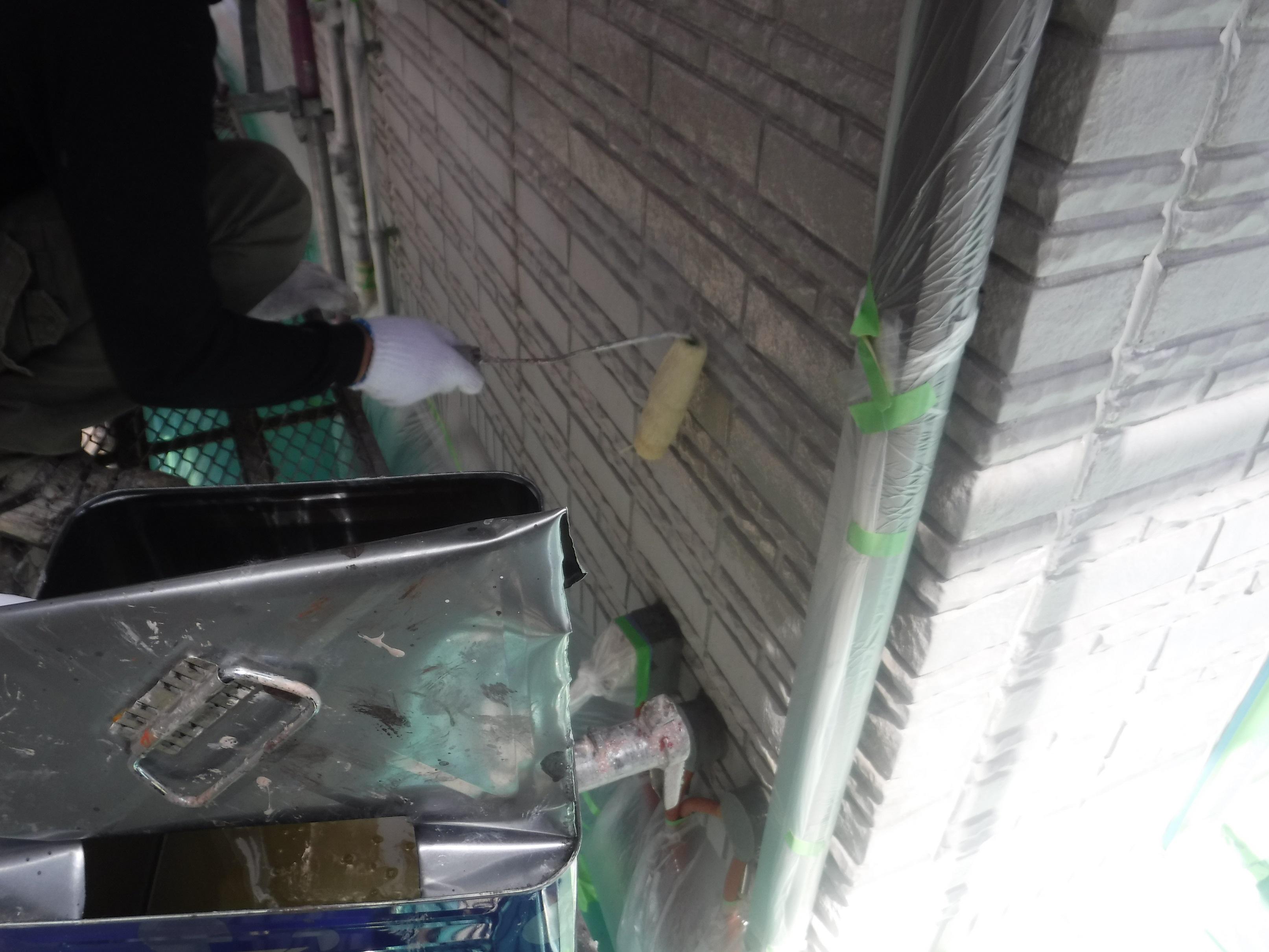 山王さま外壁下塗りローラー