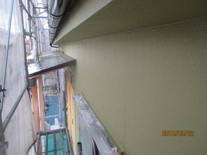 外壁 上塗り2回目 完了