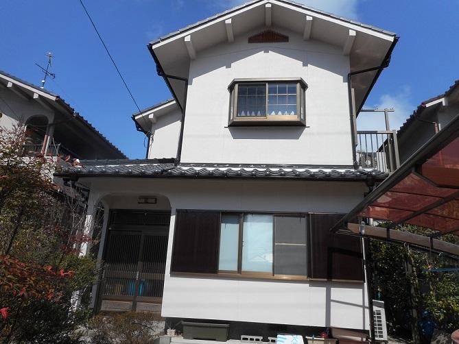 近江八幡古川町 N様邸|外壁塗装&屋根工事 滋賀の片山