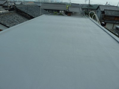 東近江市(旧能登川)K様邸 FRP防水工事|外壁塗装&屋根工事 滋賀の片山