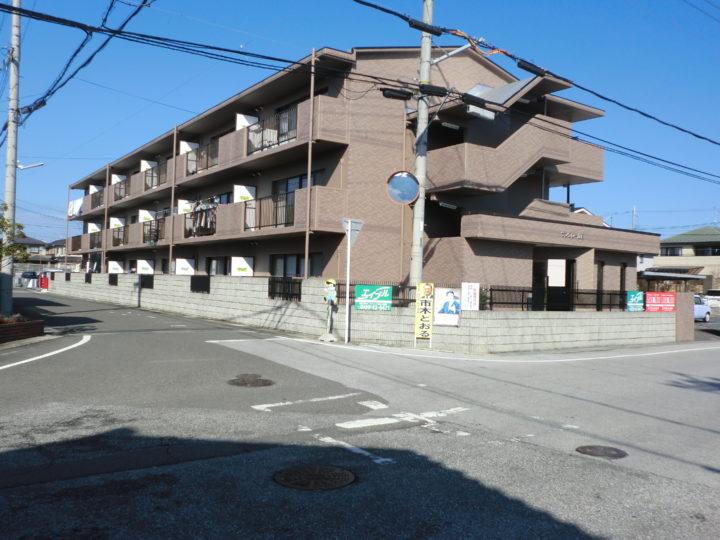 3階建てマンション塗装工事・東近江市|外壁塗装&屋根工事 滋賀の片山
