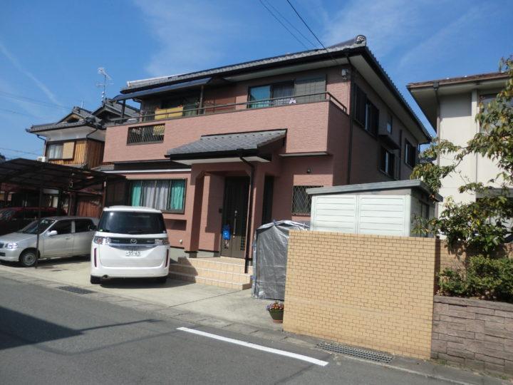 東近江市山路町A様邸~ペリアート~|外壁塗装&屋根工事 滋賀の片山