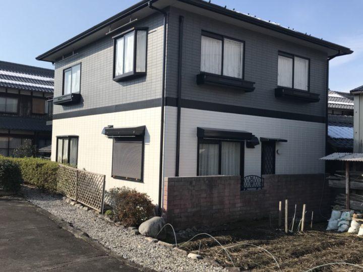 ネオフレッシュティアラ(多彩模様)施工事例~八日市・Uさま邸~|滋賀 外壁塗装&屋根工事の片山
