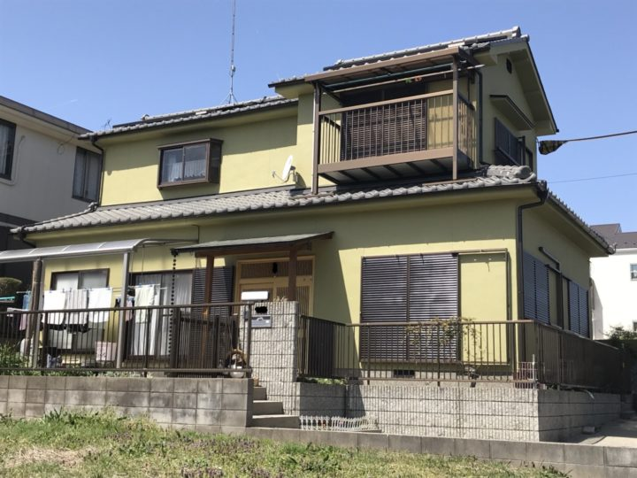 モルタル外壁マスチック改修事例 甲賀市希望が丘・Tさま邸 パーフェクトトップ使用