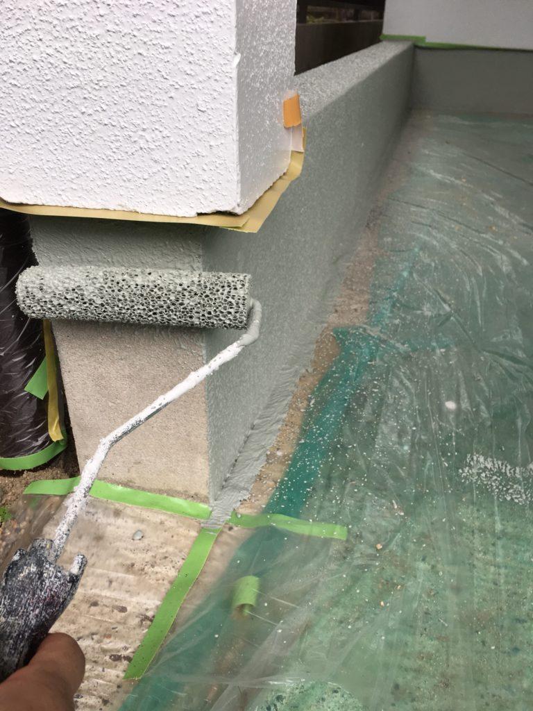 基礎 部分 塗装 外壁