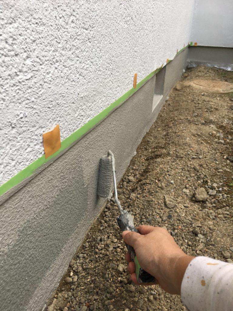 外壁 塗装 基礎 部分