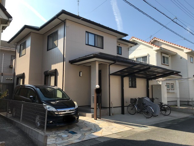 自信アリ!!4回塗り屋根・外壁オールフッ素プラン |滋賀県守山市Fさま邸