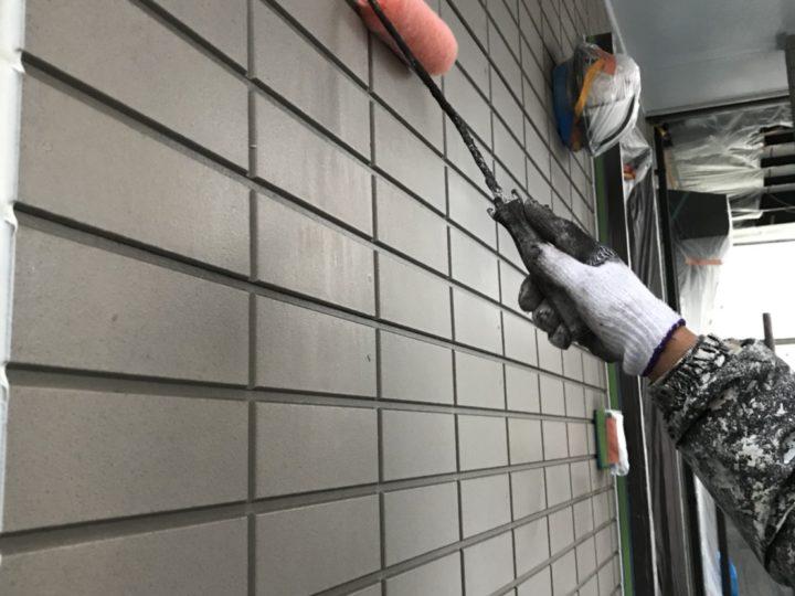 外壁~下塗り~