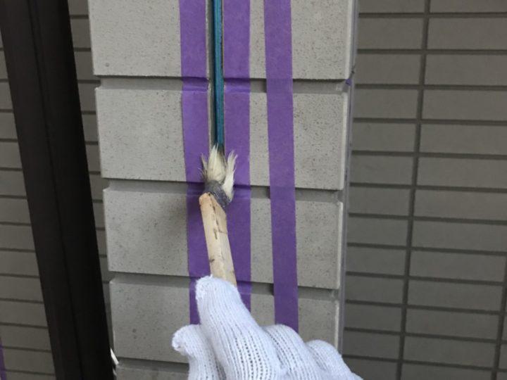コーキング~プライマー塗り~
