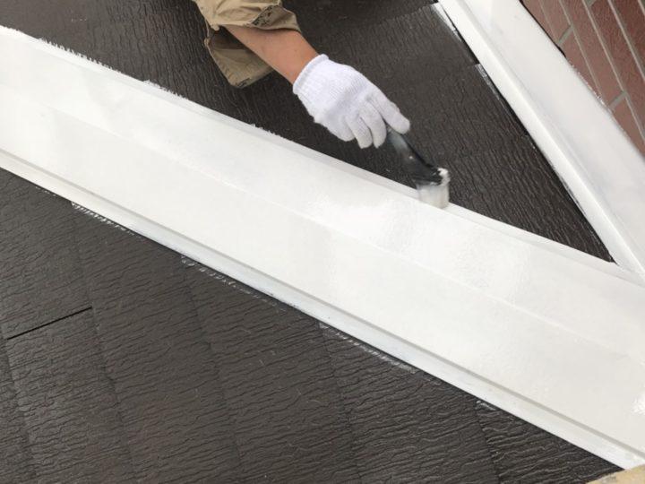 屋根 板金錆止め