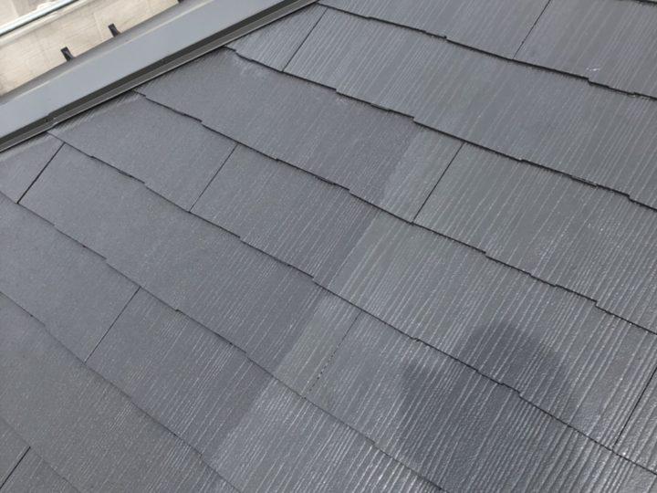 屋根 マイルドゼッフル上塗り