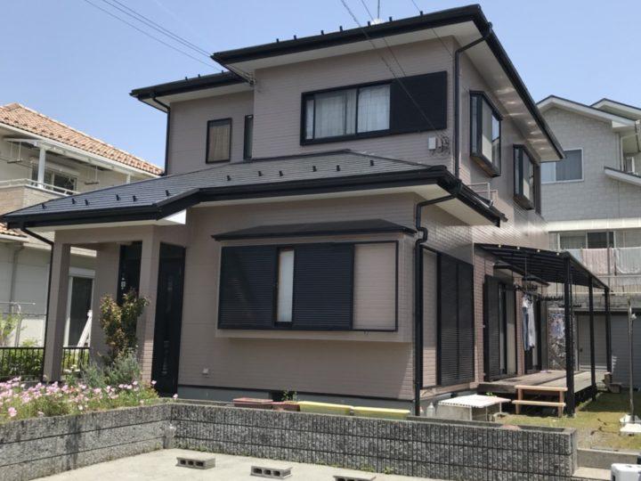 甲賀市希望が丘・M様邸 オールフッ素塗装工事