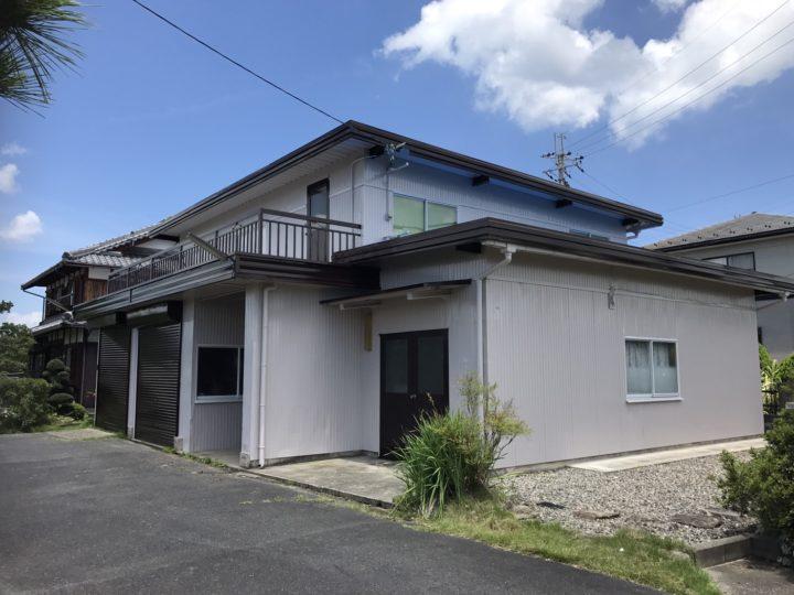 農小屋3回塗りと塗膜防水5回塗り仕上げ |滋賀県東近江市能登川・Oさま邸