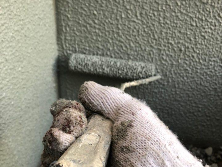 巾木(基礎コンクリート部分)