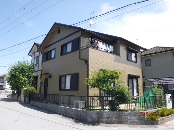 屋根・外壁とも4回塗り改修事例~ハイブリッド塗料使用例~ |滋賀県東近江市の外壁・屋根塗装&コーキング
