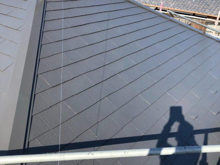 屋根4回塗り施工事例~ファインパーフェクトベスト |滋賀県湖南市 Yさま邸