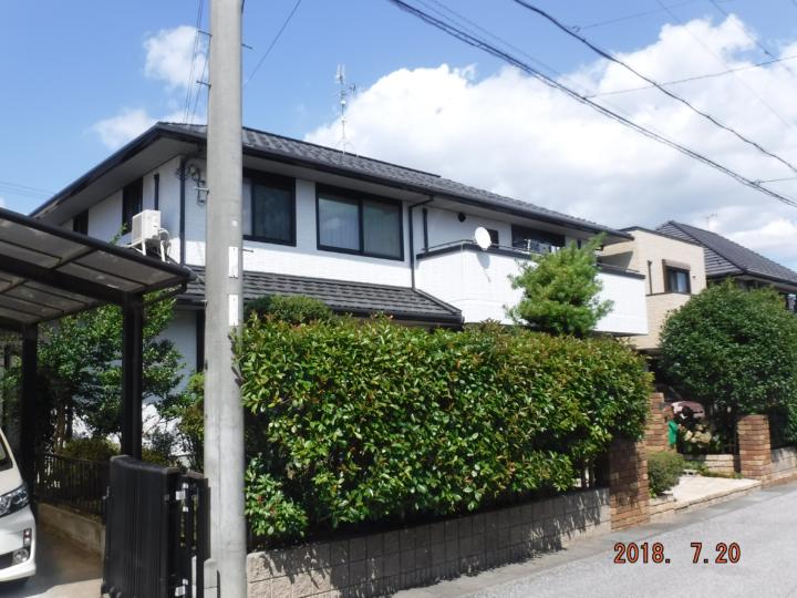 3回塗り 外壁改修例~ハイブリッド塗料~ | 東近江市・Mさま邸