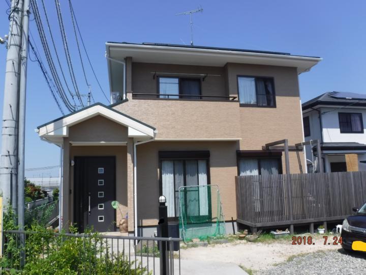 築約15年 屋根・外壁フッ素樹脂改修例 |滋賀県湖南市 Nさま邸