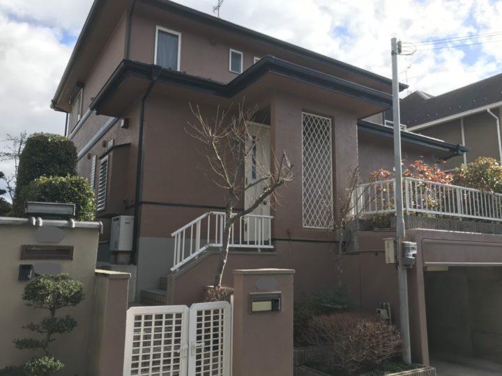 屋根・外壁ともマイルドゼッフル(フッ素樹脂塗料)改修例 | 湖南市 Sさま邸