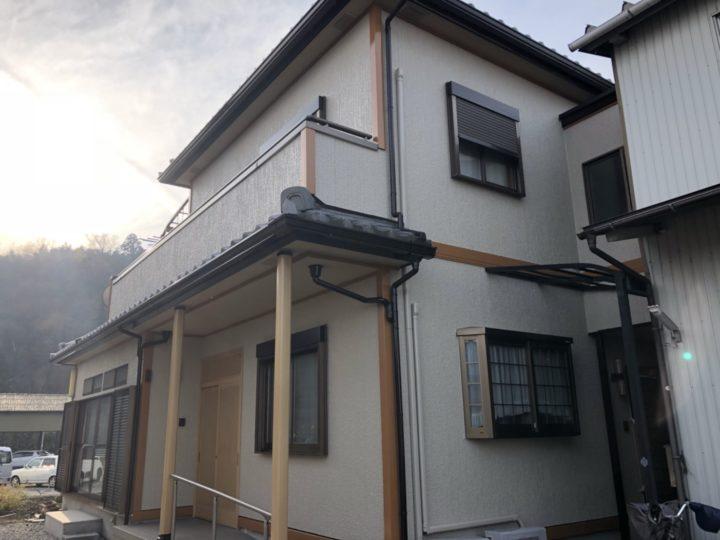 和風住宅4回塗り施工事例~ファインパーフェクトトップ |滋賀県東近江市 N様