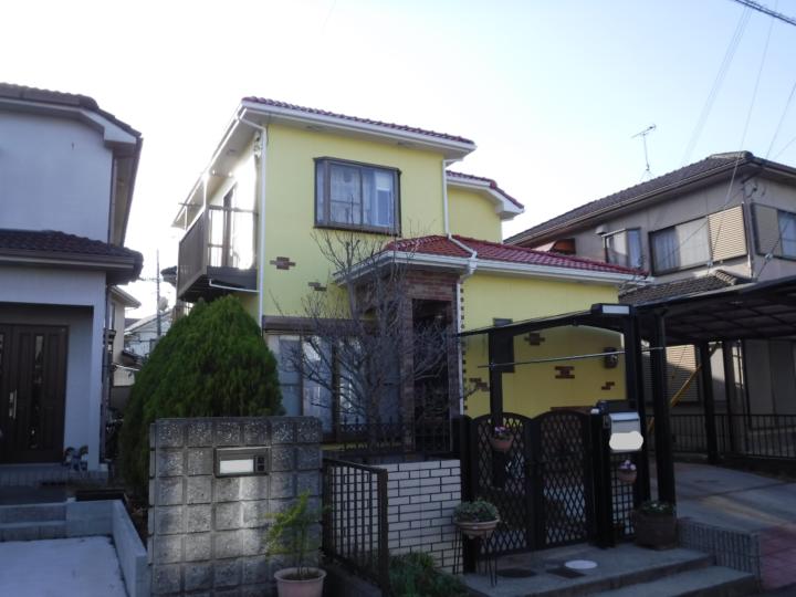 外壁約170㎡ 屋根&外壁ラジカル+タイル工事 |湖南市のSさま邸