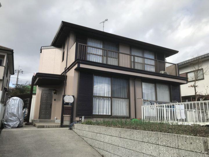 積水ハウスさん改修事例 フッ素塗料4回塗り仕上げ |滋賀県湖南市 Fさま邸