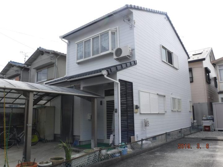 ラジカルハイブリッド塗料 屋根・外壁とも4回塗り! |近江八幡市・Hさま