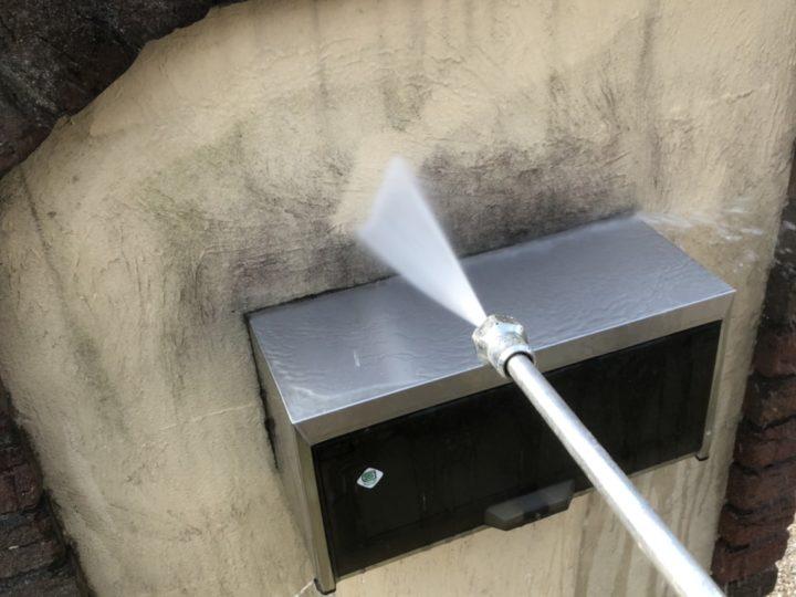 高圧洗浄 塀