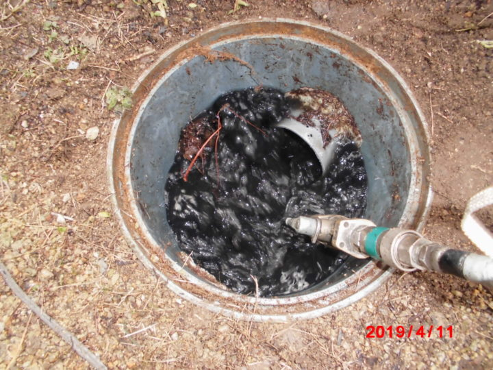 汚水管洗浄
