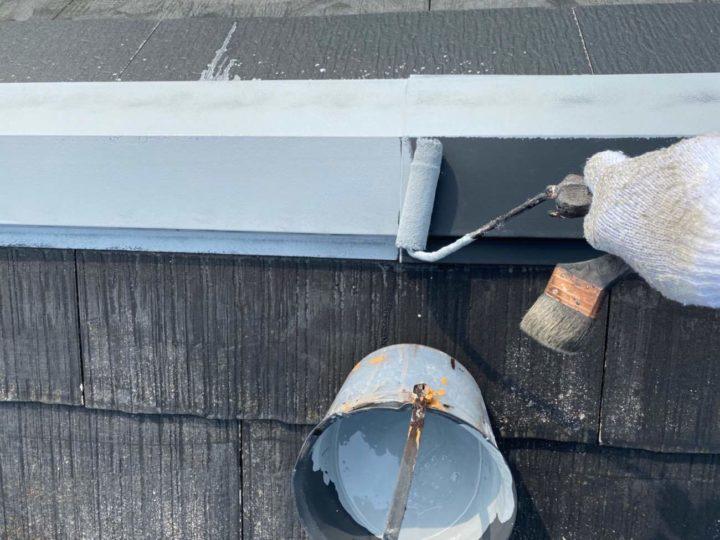 屋根板金サビ止め