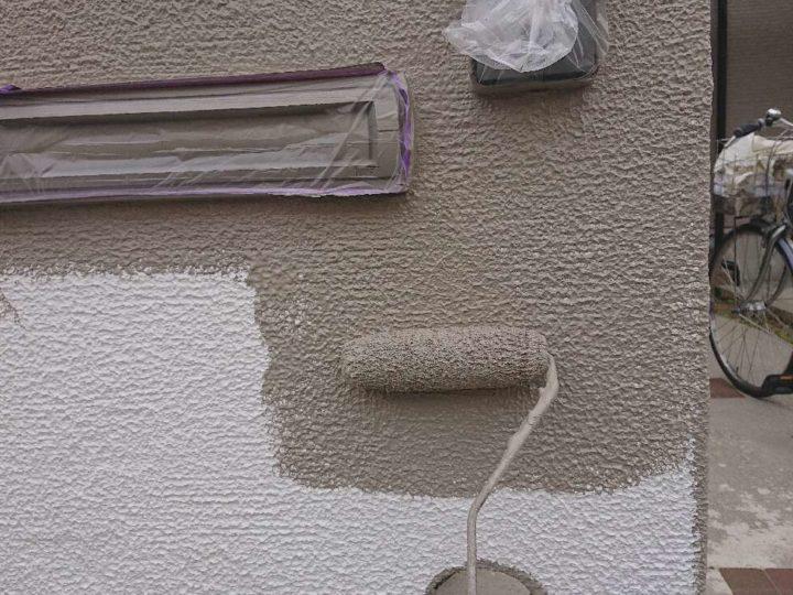 門塀 上塗り