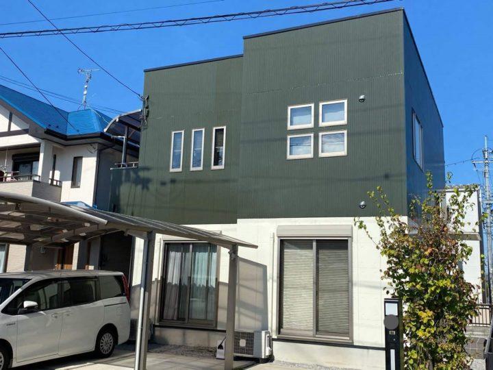 「台風の対応も安心できました」( *´艸`) 日本ペイントのラジカル塗料4回塗り!!~滋賀県東近江市のFさま