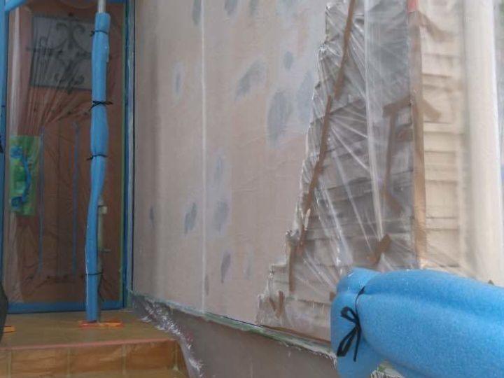 外壁 下塗り再塗装後
