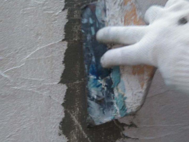 外壁 カチオン補修